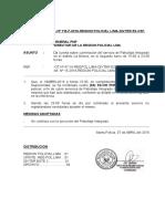 Ni. Culminacion de Servicio de Patrullaje Integrado Segundo Turno