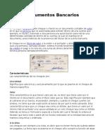Documentos Bancarios