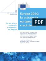 Europa 2020 - La Estrategia Europea de CrecimientoA