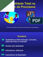 AULA 1 -A Qualidade Total Na Gestao de Processos I