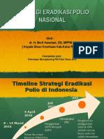 Kebijakan_Eradikasi Polio PONTIANAK_Sept 2015.ppt