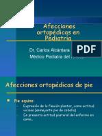 DR. ALCANTARA-Afecciones Ortopédicas en Pediatria