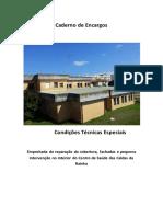Anexo VI_Caderno de Encargos - Centro de Saúde de Caldas Da Rainha