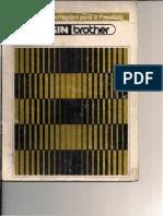 Manual Da Frontura Maquina de Trico Elgim Brother 840