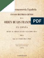 La Francmasoneria Española