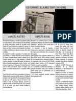 Primer Gobierno de Belaunde (1963-1968)