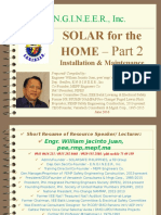 Solar for the Home-Installation & Maintenance-20161