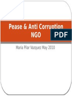 Pease & Anti Corruption NGO-Prisioners
