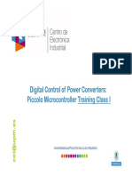 Digital Control Master Training Lesson