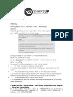 Essay Writing FCE Part 1 - Sample Task # 5 - Technological Developments