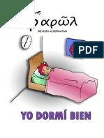 Revista Farol Alternativa. Yo Dormí Bien (Marzo 2016)