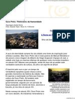 Revista Sagarana - Turismo e Cultura Em Minas Gerais