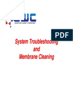 Troubleshooting and Cleaning Chemistry - Aug 13, 2014