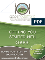 Gaps Australia Into eBook