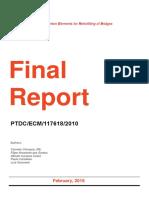 SUPERB Final Report
