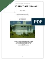 DIAGNOSTICO ARACURIO (Reporte global de la secretaria de salud)