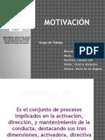 Motivación presentación