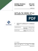 NTC-IsO5667-18 - Guia Muestreo Agua Subterranea en Sitios Contaminados