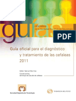 Guia Oficial Para El Diagnostico y Tratamiento de Las Cefaleas 2011