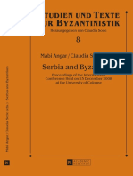 Serbian and Byzantine Coinage in Serbia