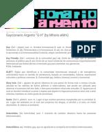 Gaycionario Argento G-H (by Mhoris EMm)
