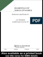 [Alan Wickens] Fundamentals of Rail Vehicle Dynamic