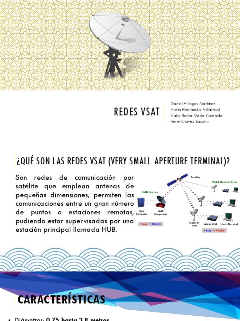 Redes VSAT cargado por Kevin Hernández