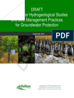 Hydrogeological Studies Guideline DRAFT - October 3 2012