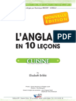 L'Anglais en 10 leçons - cuisine