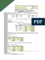 FIFO Calculator