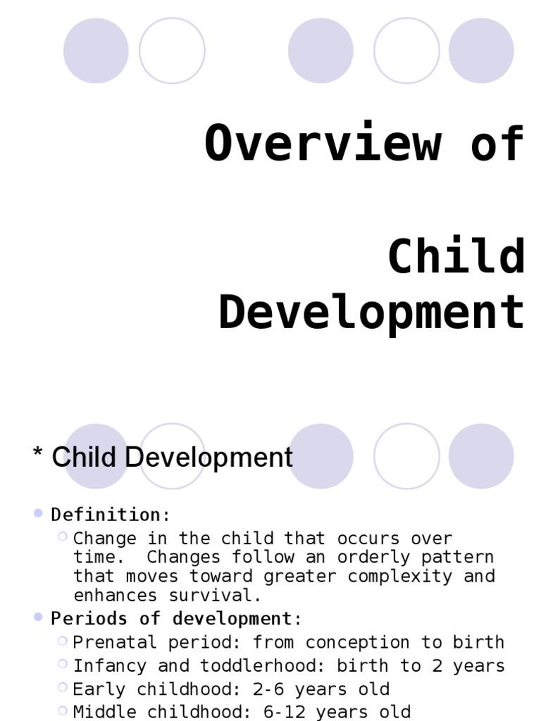 development theories | child development | thought