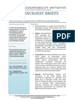 Panchayat Briefs Vol 1, No 3