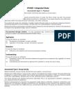 integrated study assessment breakdowns