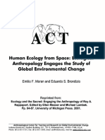 Human Ecology from space