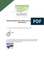 Manual Basico de Instalação de Antenas