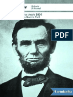 Los Estados Unidos Desde 1816 Hasta La Guerra Civil - Isaac Asimov