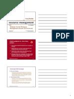 Manajemen SDM & Manajemen Strategis