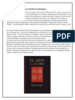 Análisis Del Arte de La Guerra y Planificación Estratégica