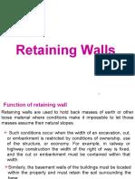 1.Retaining Walls (1-2
