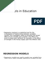 Models in Education