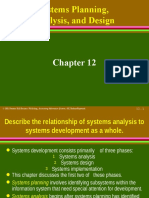 Systems Planning, Analysis, And Design