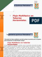Flujo Multifasico en Tuberias Horizontales