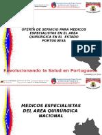Oferta de Servicio Para Medicos Especialistas. Portuguesa i