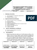 Pets-seg Nº 002 Inspeccion de Polvorines y Control de Explosivos