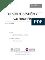 TFG- El Suelo Gestion y Valoracion