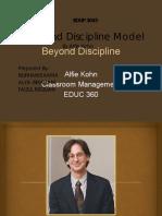 Alfie Kohn Beyond Disciplines