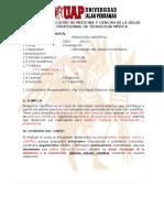 Sylabus de Redaccion Cientifica (UAP 2016-2)