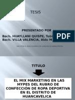 Diapositiva Tesis Marketing Tobias