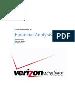 verizon financial analysis - final