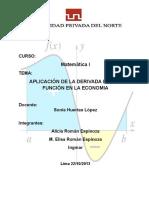 DERIVADA DE UNA FUNCION -APLICACION.docx